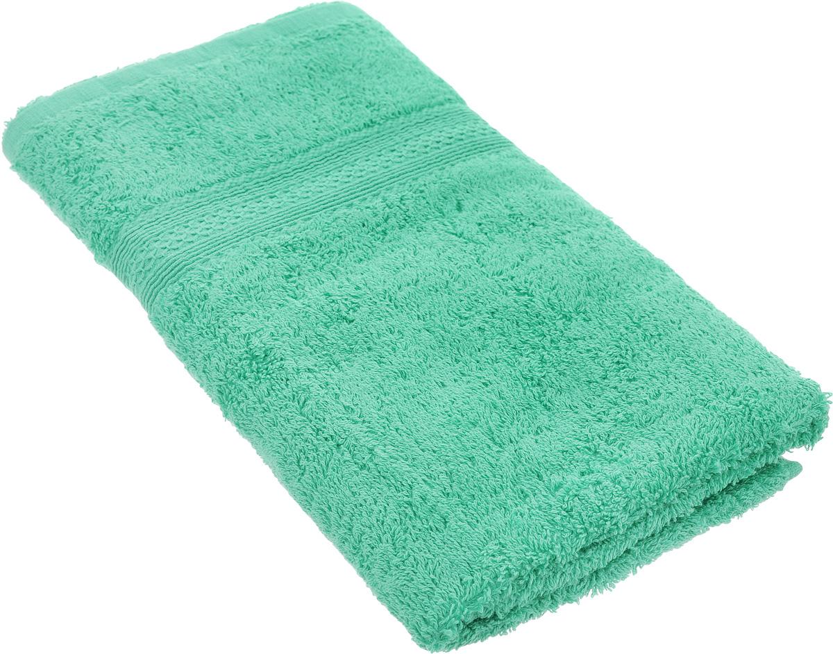 Полотенце махровое TAC Touchsoft, цвет: бирюзовый, 50 х 90 см0911-84032Полотенце TAC Touchsoft выполнено из натуральной махровой ткани (100% хлопок). Изделие отлично впитывает влагу, быстро сохнет, сохраняет яркость цвета и не теряет форму даже после многократных стирок. Полотенце очень практично и неприхотливо в уходе. Оно создаст прекрасное настроение и украсит интерьер в ванной комнате.
