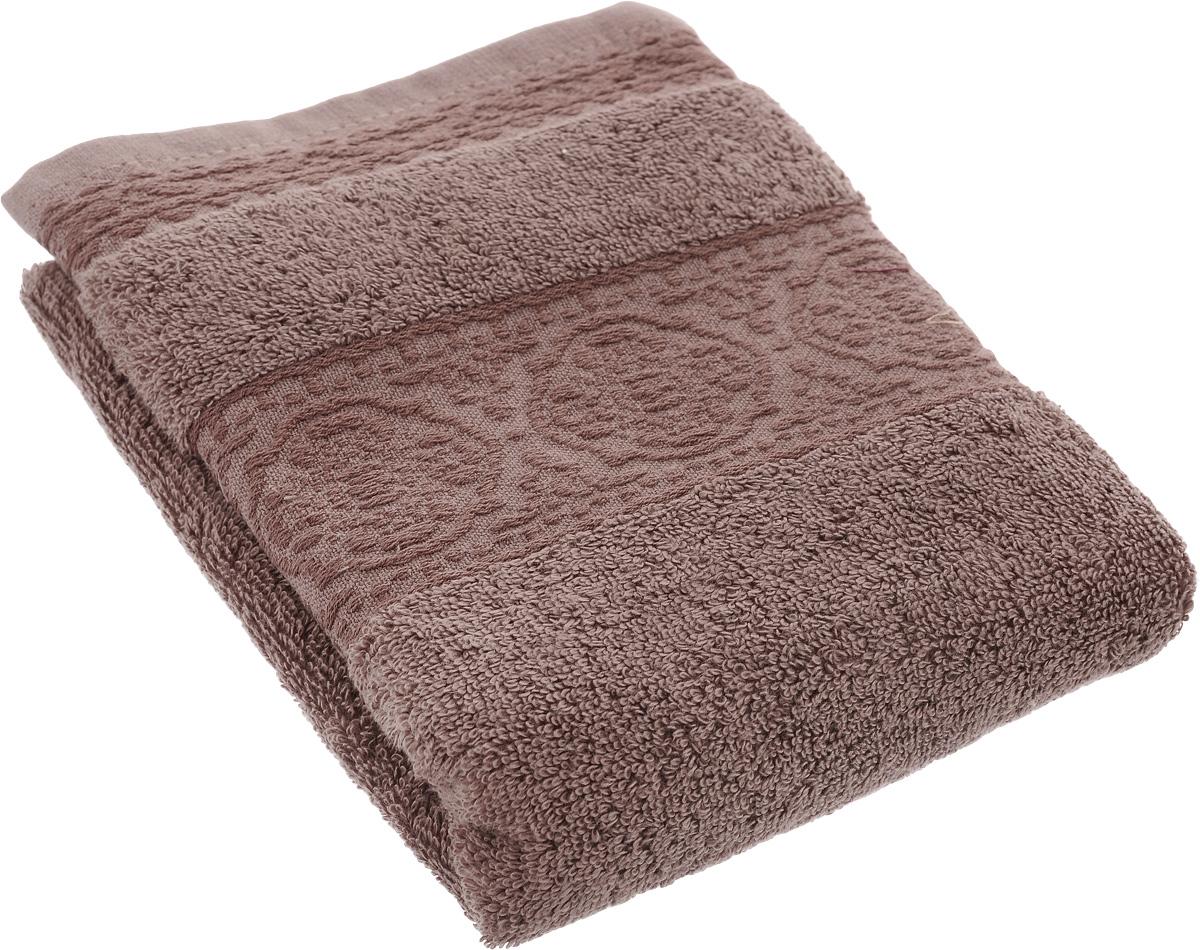 Полотенце махровое TAC Janti, цвет: шоколадный, 50 x 90 см1029-84568Полотенце TAC Janti изготовлено из махровой ткани (100% хлопка). Изделие отлично впитывает влагу, быстро сохнет, сохраняет яркость цвета и не теряет форму даже после многократных стирок. Полотенце TAC Janti приятно удивит и даст возможность почувствовать себя творцом окружающего декора. Оно создаст прекрасное настроение и украсит интерьер в ванной комнате.