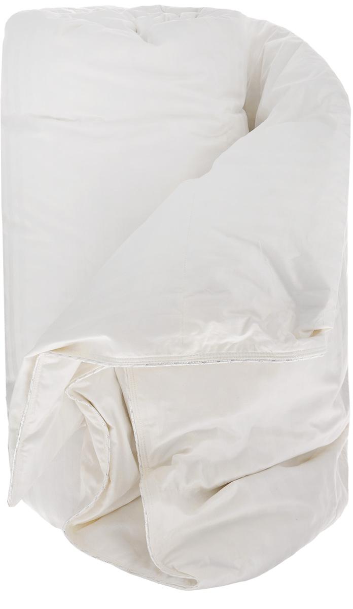 Одеяло TAC Elite, наполнитель: гусинные пух и перья, 155 x 215 см7307-32939Одеяло TAC Elite с наполнителем, состоящим из 90% гусиного пуха и 10% гусиных перьев, подарит вам здоровый и комфортный сон. Чехол одеяла выполнен из натурального хлопка. Гусиное перо и пух – безопасный и экологически чистый наполнитель. В связи со своим натуральным происхождением, гусиный пух защищает тело от перепадов температуры, регулирует содержание влажности и создает подходящую атмосферу для сна. «Гидроскопичен» - то есть поглощает выделяемый во время сна пот и выбрасывает обратно в дневное время. Достаточно один раз в неделю встряхнуть и проветрить ваши одеяла и подушки для того чтобы распушить наполнитель и избавить его от влаги. Не создает благоприятных условий для жизнедеятельности бактерий, поэтому не образует запаха. Не вызывает аллергических реакций и гигиеничен. Может подвергаться стирке. Размер одеяла: 155 х 215 см.