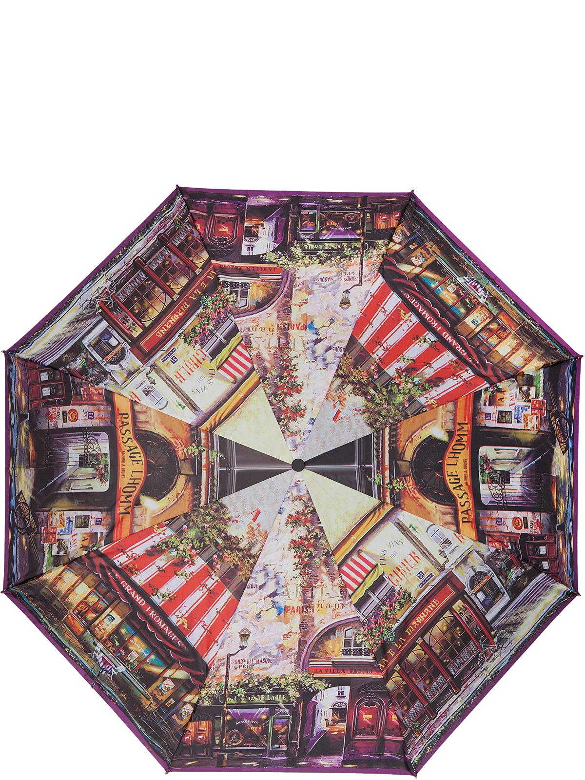 Зонт женский Eleganzza, автомат, 3 сложения, цвет: черный. A3-05-0254LSA3-05-0254LSЖенский зонт-автомат торговой марки ELEGANZZA с каркасом Smart, который позволяет без особых усилий складывать зонт, не позволяя стержню вылетать обратно. Купол: 100% полиэстер, эпонж. Материал каркаса: сталь + алюминий + фибергласс. Материал ручки: пластик. Длина изделия - 30 см. Диаметр купола - 105 см. Система Smart, не позволяет стержню при сложении вылететь обратно, это облегчает сложение зонта! При сложении есть характерный звук-треск, как трещетка. Примечание: зонт не откроется с кнопки если его не закрыть до щелчка!