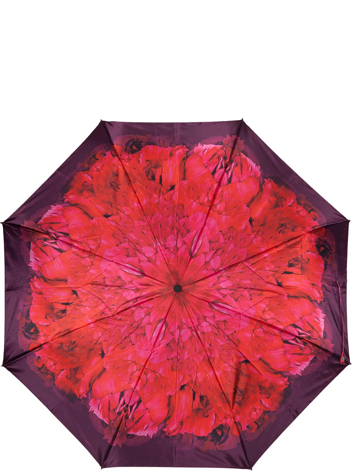 Зонт женский Eleganzza, автомат, 3 сложения, цвет: бордовый. A3-05-0310LSA3-05-0310LSЖенский зонт-автомат торговой марки ELEGANZZA с каркасом Smart, который позволяет без особых усилий складывать зонт, не позволяя стержню вылетать обратно. Купол: 100% полиэстер, сатин. Материал каркаса: сталь + алюминий + фибергласс. Материал ручки: пластик. Длина изделия - 30 см. Диаметр купола - 105 см. Система Smart, не позволяет стержню при сложении вылететь обратно, это облегчает сложение зонта! При сложении есть характерный звук-треск, как трещетка. Примечание: зонт не откроется с кнопки если его не закрыть до щелчка!