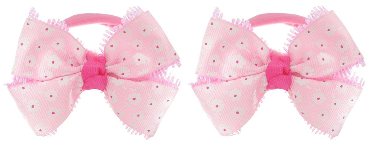 Babys Joy Резинка для волос цвет светло-розовый 2 шт MN 136/2MN 136/2_светло-розовыйРезинка для волос Babys Joy выполнена в виде текстильного банта, сплетенного из двух лент, атласной с цветочным узором и кружевной. Резинка позволит убрать непослушные волосы с лица и придаст образу немного романтичности и очарования. Резинка для волос Babys Joy подчеркнет уникальность вашей маленькой модницы и станет прекрасным дополнением к ее неповторимому стилю.