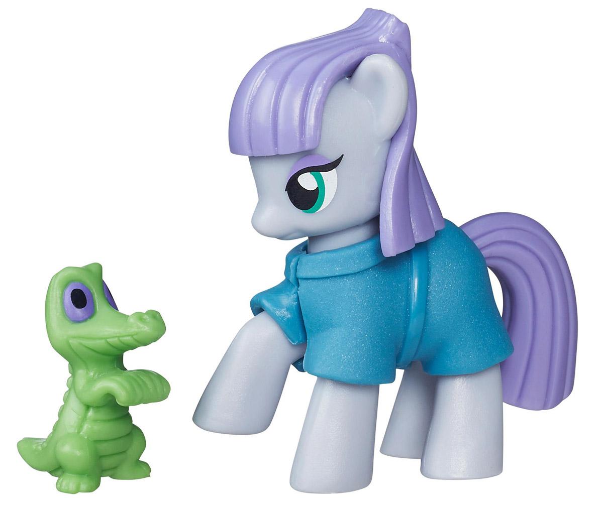 My Little Pony Набор фигурок Maud Rock PieB3595_B5383Набор фигурок My Little Pony Maud Rock Pie непременно понравится вашей малышке. Она выполнена из безопасного пластика в виде симпатичного пони, одного из главных героев мультсериала My Little Pony. Maud Rock Pie одета в свой особый наряд который соответствует её необычному внешнему виду А ещё вместе с ней её дружок аллигатор Гамми, который готов к совместным приключениям! Каждый день с пони Maud Rock Pie становится волшебным! Все элементы наряда съемные. Игры с My Little Pony способствуют развитию у ребенка фантазии и любознательности, помогут овладеть навыками общения, воспитают чувство ответственности и заботы. Благодаря маленькому размеру фигурки ребенок сможет взять ее с собой на прогулку или в гости. Порадуйте свою малышку таким замечательным подарком!