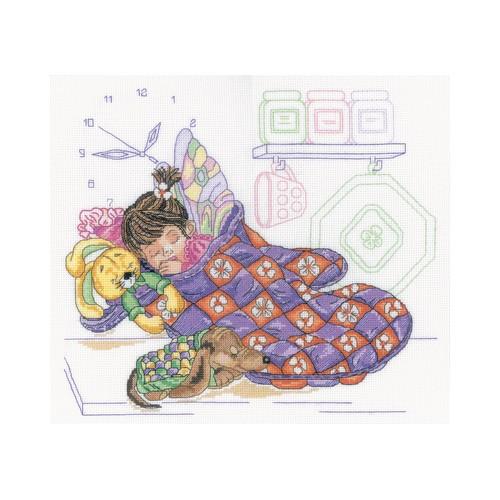 Набор для вышивания RTO Фея кухни, 31 см х 27 см. M318M318Мулине на карте, разобранное по цветам, канва, символьная схема, игла, инструкция