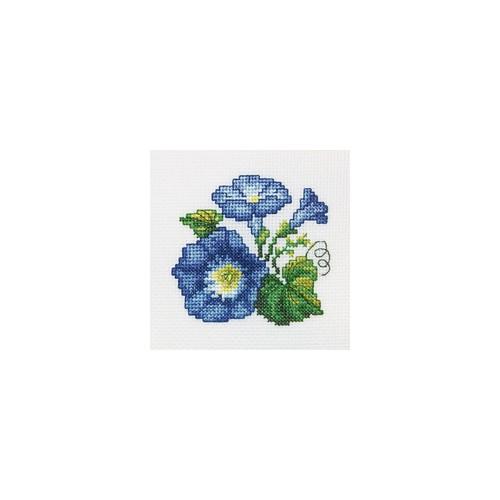 Набор для вышивания RTO Вьюнок, 10 см х 10 см. H245H245Мулине, канва, символьная схема, игла, инструкция
