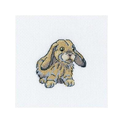 Набор для вышивания RTO Кролик Фаня, 9 см х 9 см. H265H265Мулине, канва, символьная схема, игла, инструкция
