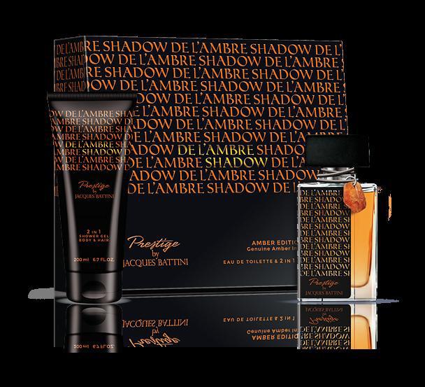 Jacgues Battini Cosmetics Подарочный Набор (Туалетная вода для мужчин De L'ambre Shadow, 50 мл + гель для душа De L'ambre Shadow, 200 мл)5902020049555это аромат для мужчин, принадлежит к группе ароматов древесные шипровые. De L`Ambre Shadow выпущен в 2013. Верхние ноты: Бергамот, Апельсин и Лаванда; ноты сердца: Цикламен, Герань и Жасмин; ноты базы: Белый кедр, Сандал и Мускус. De L`Ambre Shadow Jacques Battini - это аромат для мужчин, принадлежит к группе ароматов древесные шипровые. Изысканный флакон украшен кристаллом природного янтаря, и идеально подойдет для подарка. De L`Ambre Shadow выпущен в 2013. Верхние ноты: Бергамот, апельсин и Лаванда; ноты сердца: Цикламен, Герань и Жасмин; ноты базы: Белый кедр, Сандаловое дерево и Мускус.
