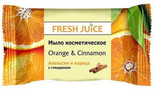 Fresh Juice мыло косметическое Orange & Cinnamon, 75 г