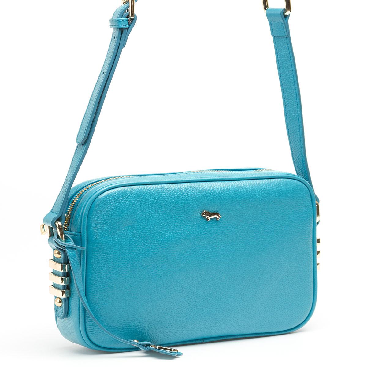 Сумка кросс-боди женская Labbra, цвет: светло-голубой. L-8329L-8329Женская сумка торговой марки LABBRA из натуральной кожи. Сумка закрывается на металлическую молнию. Внутри - одно отделение, в котором есть карман на молнии, карман для мобильного телефона и открытый карман. Сумка имеет карман на задней стенке. Данная модель кросс-боди, длина наплечного ремня - 115 см.