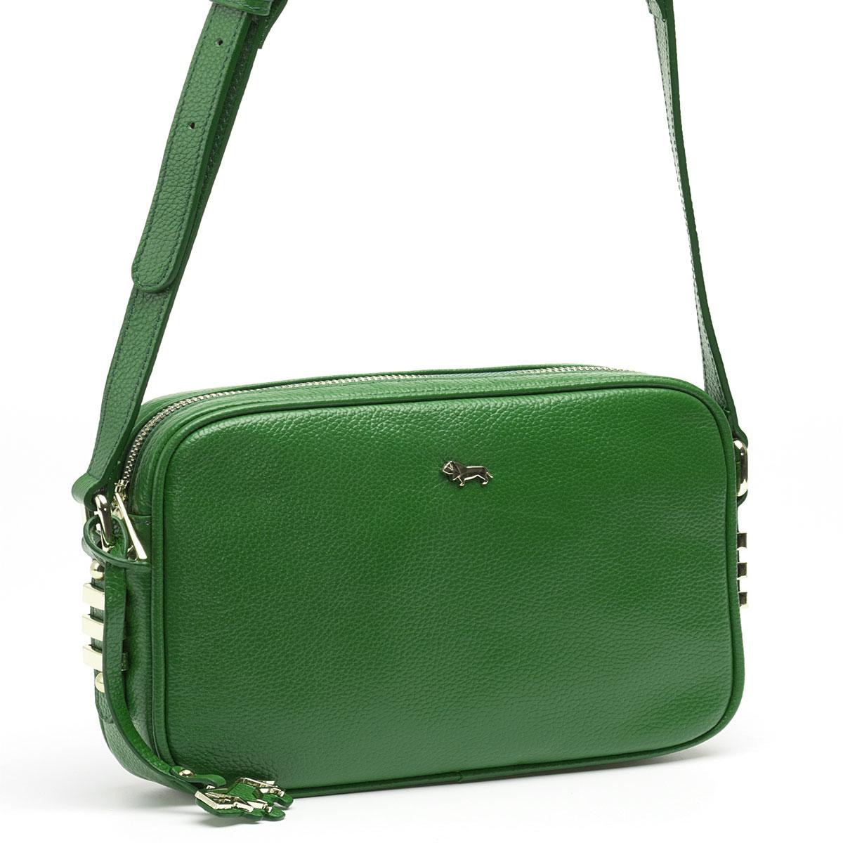 Сумка кросс-боди женская Labbra, цвет: зеленый. L-8329L-8329Женская сумка торговой марки LABBRA из натуральной кожи. Сумка закрывается на металлическую молнию. Внутри - одно отделение, в котором есть карман на молнии, карман для мобильного телефона и открытый карман. Сумка имеет карман на задней стенке. Данная модель кросс-боди, длина наплечного ремня - 115 см.
