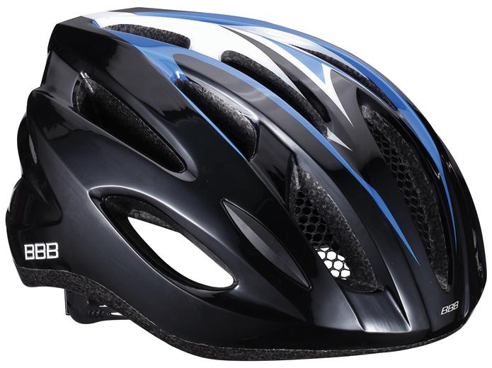 Летний шлем BBB Condor, цвет: черный, синий. Размер MBHE-35Размер шлема: 54-58 см.