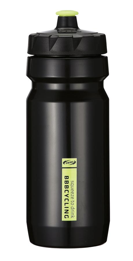 Бутылка для воды BBB CompTank, велосипедная, цвет: черный, желтый, 550 млBWB-01Бутылка для воды BBB CompTank изготовлена из высококачественного прозрачного полипропилена, безопасного для здоровья. Закручивающаяся крышка с герметичным клапаном для питья обеспечивает защиту от проливания. Оптимальный объем бутылки позволяет взять небольшую порцию напитка. Она легко помещается в сумке или рюкзаке и всегда будет под рукой. Такая идеальная бутылка небольшого размера, но отличной вместимости наполняет оптимизмом, даря заряд позитива и хорошего настроения. Бутылка для воды - отличное решение для прогулки, пикника, автомобильной поездки, занятий спортом и фитнесом. Высота бутылки (с учетом крышки): 21 см. Диаметр по верхнему краю: 5,5 см. Диаметр основания: 6,5 см.