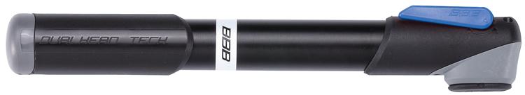 Велонасос BBB 2015 minipump WindRush S alu 230mmBMP-55Легкий корпус из алюминия 6063 T6. Давление до 7bar/100psi. Металлический плунжер обеспечивает быстрое накачивание большого объема воздуха. Насадка DualHead с фиксатором под большой палец. Т-образная рукоятка. Колпачок предохраняет ниппели от загрязнения. Подходит для ниппелей Presta, Schrader и Dunlop. Длина: 250 мм. Вес: 121гр.