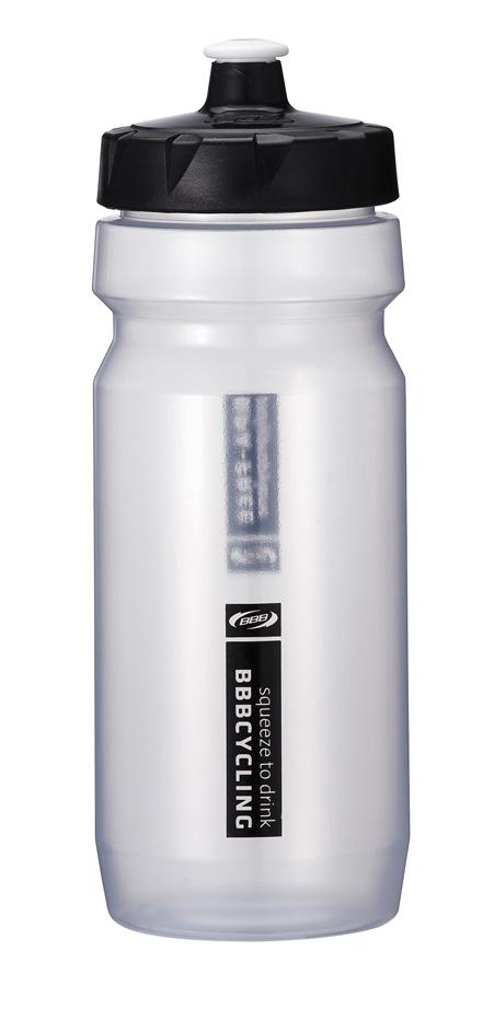 Бутылка для воды BBB CompTank, велосипедная, цвет: белый, черный, 550 млBWB-01Бутылка для воды BBB CompTank изготовлена из высококачественного прозрачного полипропилена, безопасного для здоровья. Закручивающаяся крышка с герметичным клапаном для питья обеспечивает защиту от проливания. Оптимальный объем бутылки позволяет взять небольшую порцию напитка. Она легко помещается в сумке или рюкзаке и всегда будет под рукой. Такая идеальная бутылка небольшого размера, но отличной вместимости наполняет оптимизмом, даря заряд позитива и хорошего настроения. Бутылка для воды - отличное решение для прогулки, пикника, автомобильной поездки, занятий спортом и фитнесом. Высота бутылки (с учетом крышки): 21 см. Диаметр по верхнему краю: 5,5 см. Диаметр основания: 6,5 см.