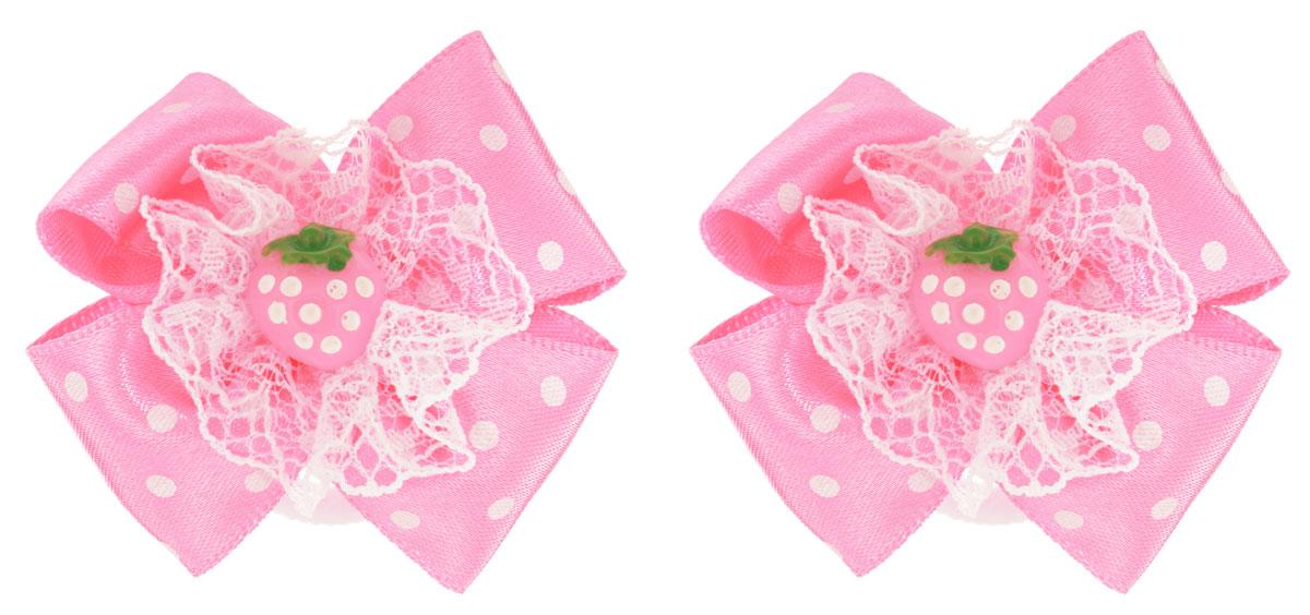 Baby's Joy Резинка для волос цвет розовый 2 шт MN 151/2