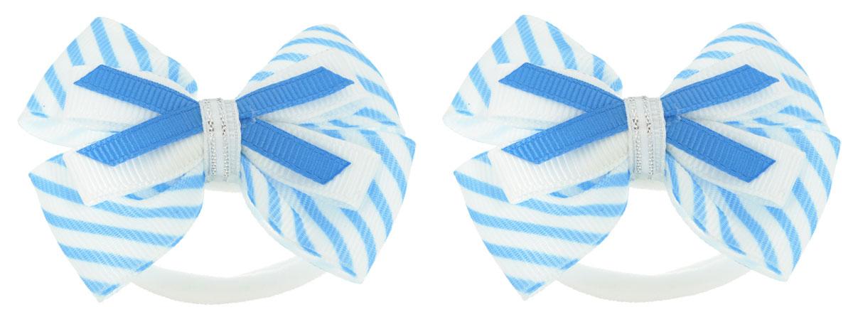Baby's Joy Резинка для волос цвет голубой 2 шт MN 121/2