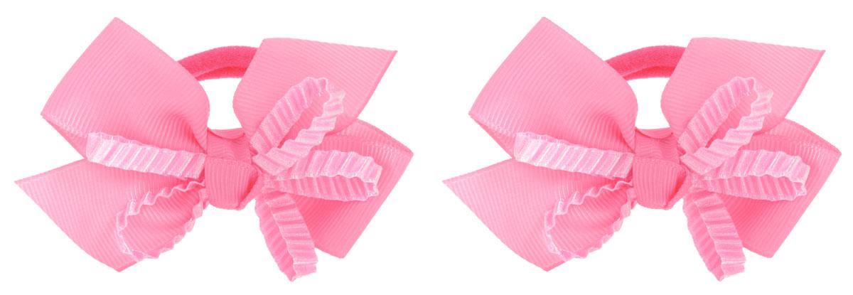 Babys Joy Резинка для волос цвет розовый 2 шт VT 55VT 55_розовый, бант рифленыйРезинка для волос Babys Joy выполнена из текстиля в виде бантика, украшенного рифленой лентой. Резинка позволит убрать непослушные волосы с лица, а также придать образу немного романтичности и очарования. Резинка для волос Babys Joy подчеркнет уникальность вашей маленькой модницы и станет прекрасным дополнением к ее неповторимому стилю.
