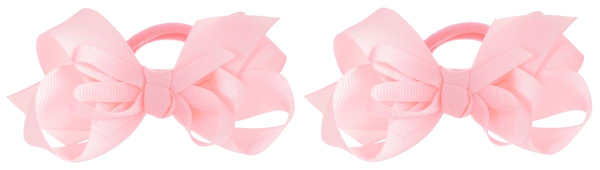Baby's Joy Резинка для волос цвет нежно-розовый 2 шт VT 55