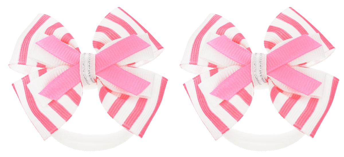 Baby's Joy Резинка для волос цвет розовый 2 шт MN 121/2