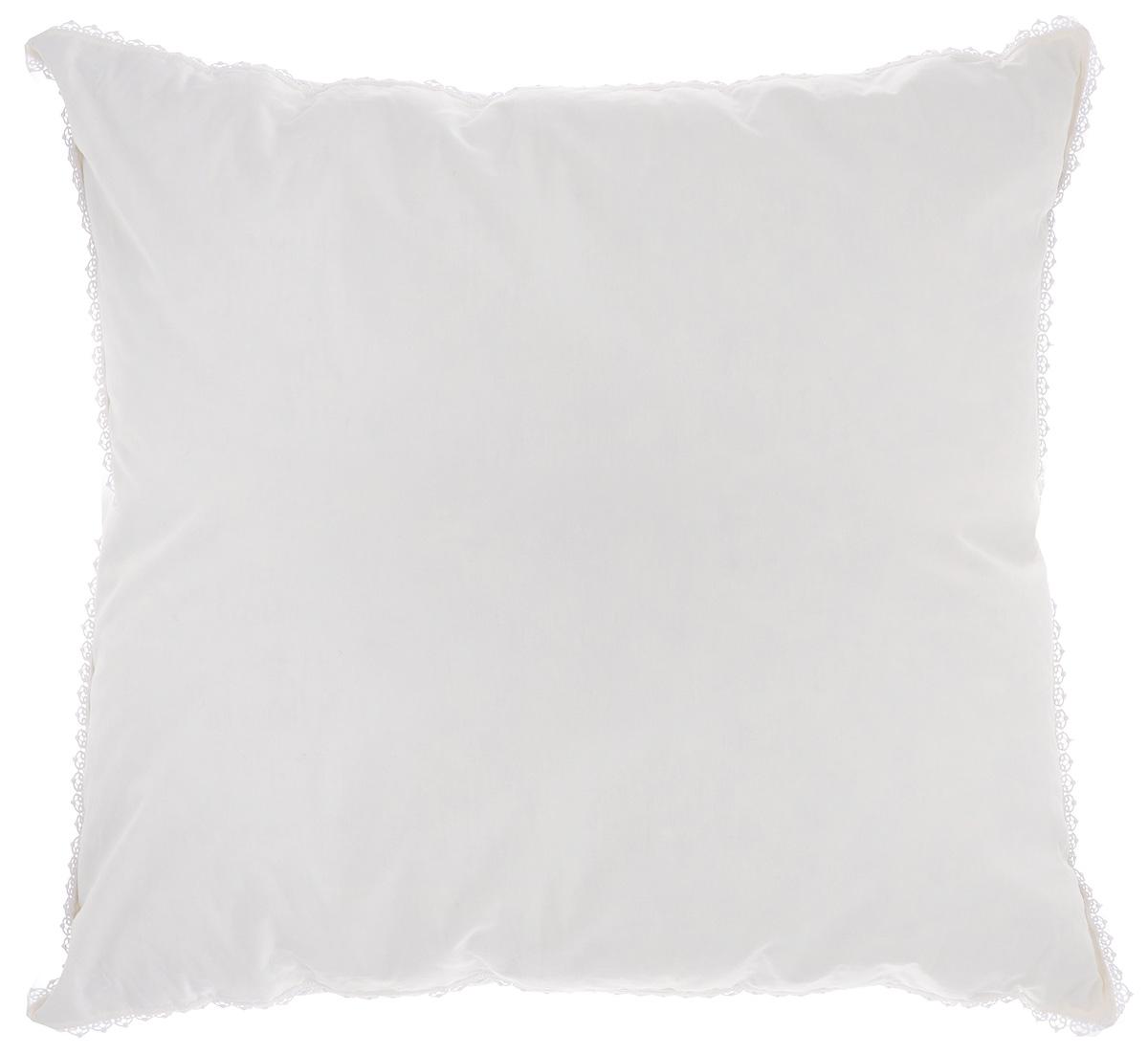 """Подушка Легкие сны """"Вдохновение"""", наполнитель: гусиный пух, 68 х 68 см"""