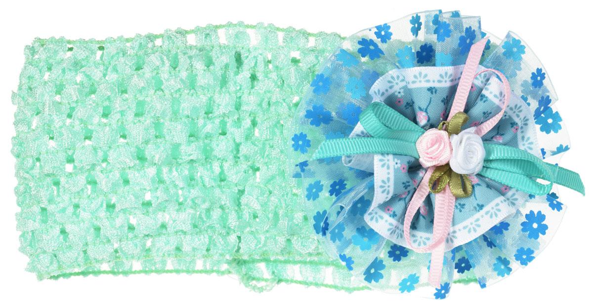 Baby's Joy Повязка для волос цвет светло-зеленый MN 15