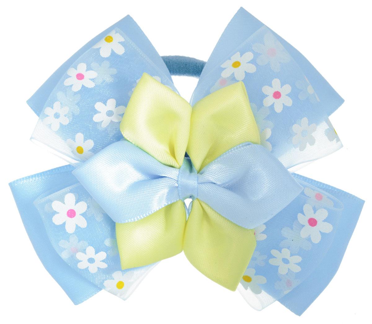 Baby's Joy Резинка для волос цвет голубой желтый AL 971
