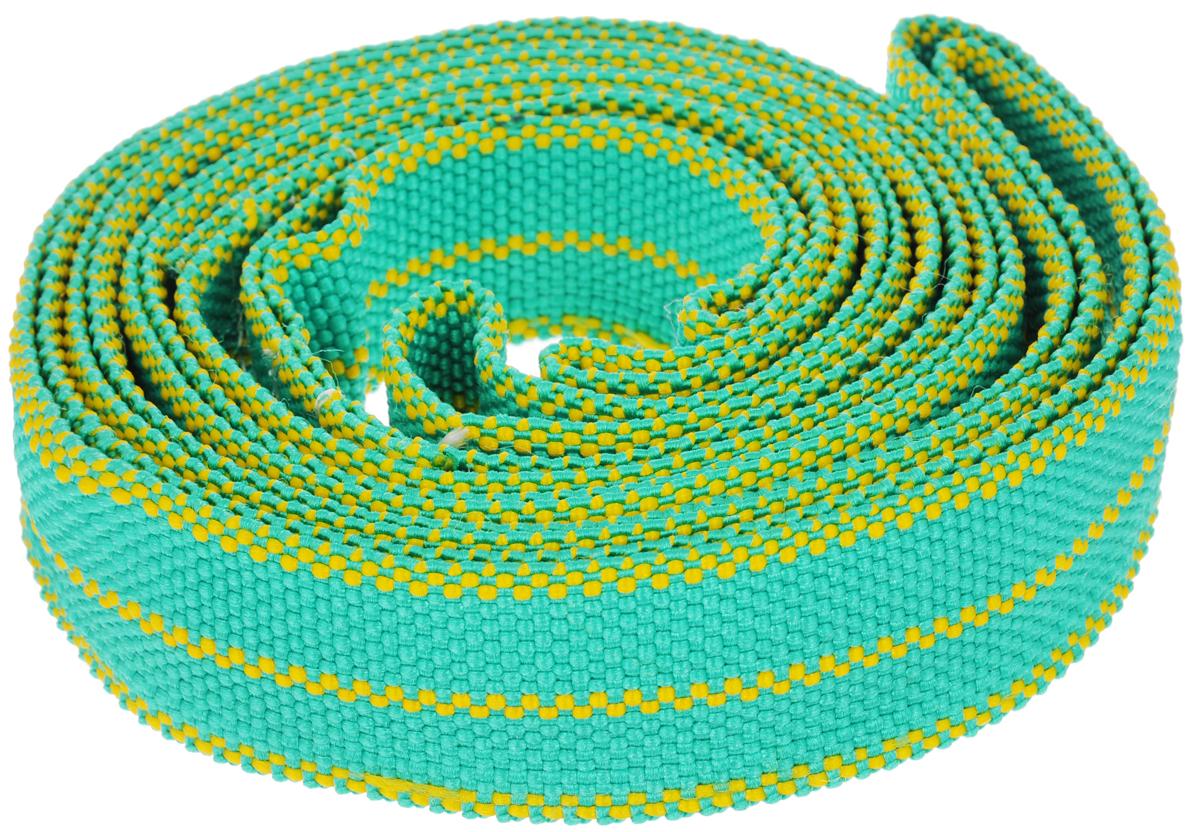 Трос буксировочный Sapfire, цвет: зеленый, желтый, 4.5 м, 7000 кг1770-STS_зеленый, желтыйЛенточный трос Sapfire предназначен для буксировки автомобилей. Выполнен из прочного материала, что обеспечивает долгий срок эксплуатации. Длина троса: 4,5 м. Ширина троса: 5 см. Максимальная нагрузка: 7000 кг.