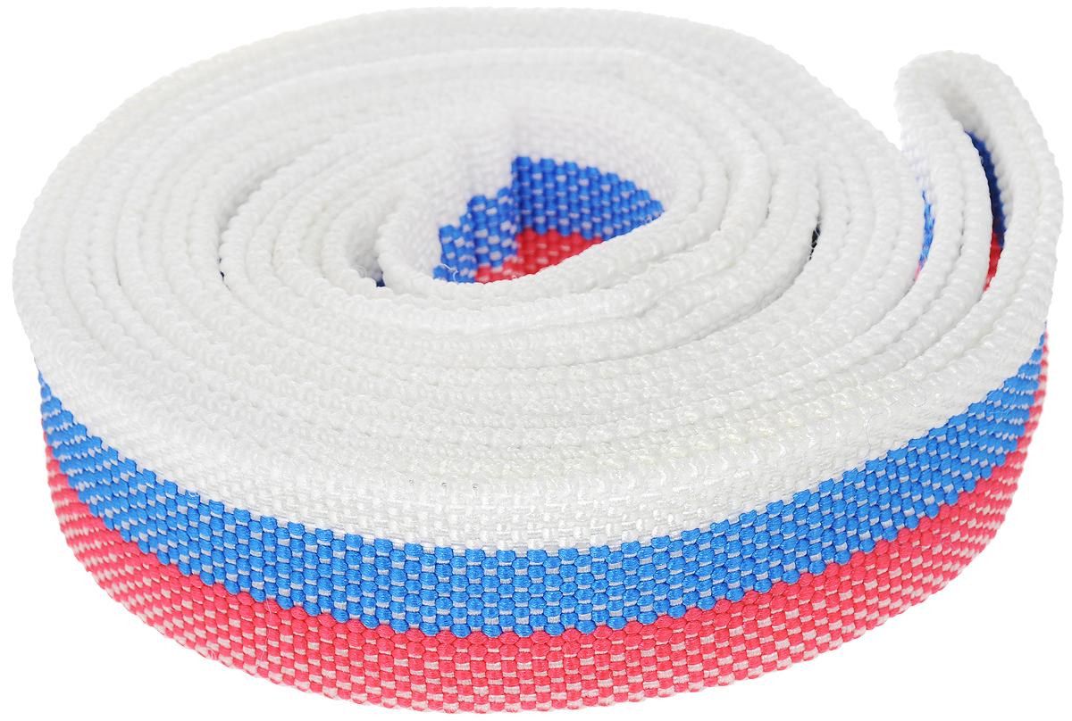 Трос буксировочный Sapfire, цвет: красный, голубой, белый, 4.5 м, 7000 кг1770-STS_красный, голубой, белыйЛенточный трос Sapfire предназначен для буксировки автомобилей. Выполнен из прочного материала, что обеспечивает долгий срок эксплуатации. Длина троса: 4,5 м. Ширина троса: 5 см. Максимальная нагрузка: 7000 кг.