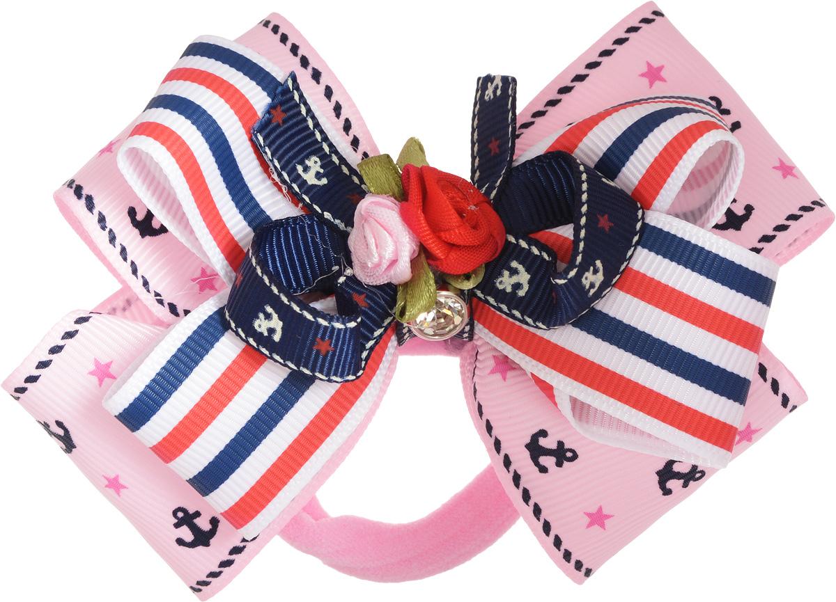 Baby's Joy Резинка для волос цвет розовый MN 189