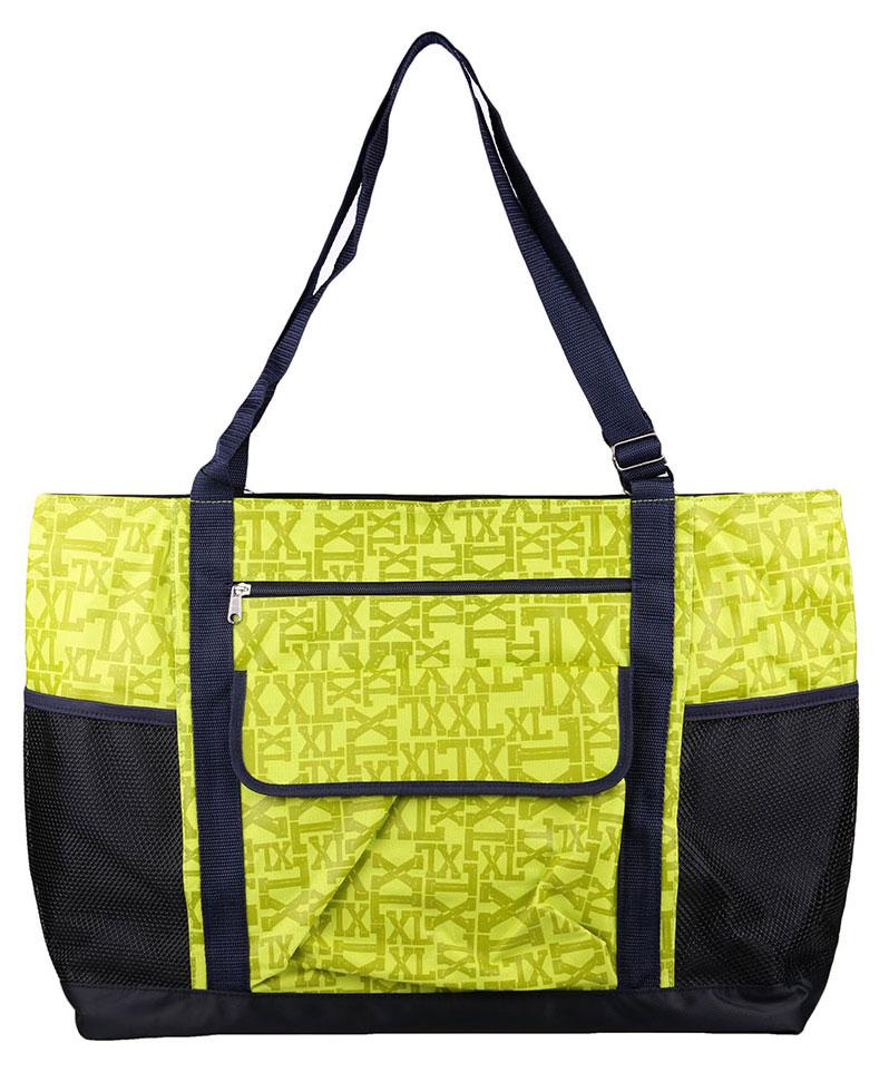 Сумка женская Fabretti, цвет: зеленый. 5014250142Женская пляжная сумка Fabretti. Внутри одно отделение , закрывается на общую пластиковую молнию, . Внутри имеется один открытый кармашек и кармашек на молнии. Подкладка тканевая.