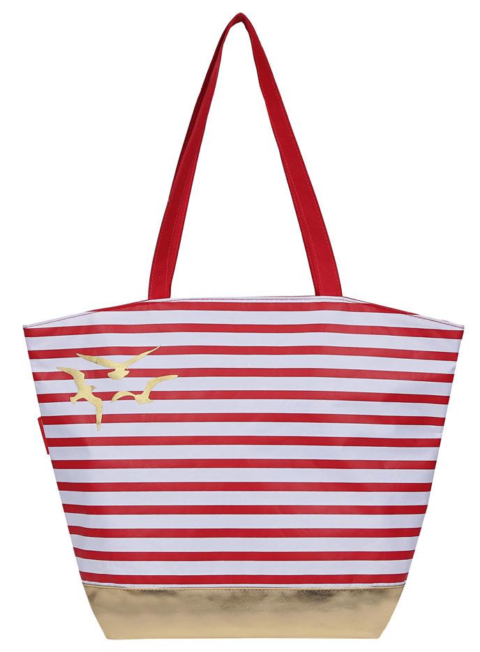 Сумка женская Fabretti, цвет: красный. 5021650216Женская сумка Fabretti. Внутри:одно отделение,на боковой стенке кармашек на молнии.Закрывается сумка на пластиковую молнию. На задней стенке карман на молнии. Модель свободно вмещает формат A4. Пустая сумка не держит форму.