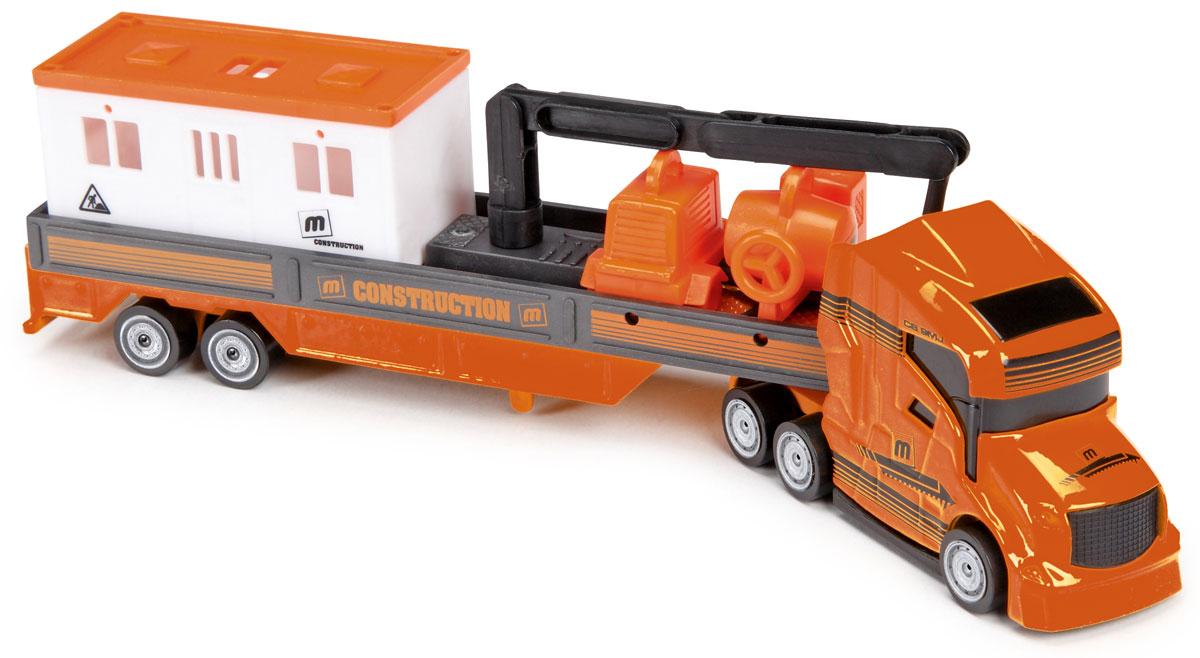 Majorette Машинка Транспортер цвет оранжевый205330_оранжевыйМашинка Транспортер привлечет внимание вашего ребенка и не позволит ему скучать. Игрушка представляет собой машину с оборудованием для стройки. Машина оранжевого цвета имеет стрелу с крюком, которая может поднимать груз, цеплять другие машинки и брать их на буксир. Ваш маленький непоседа с удовольствием будет играть с такой машиной, придумывая различные истории. Порадуйте его таким замечательным подарком!