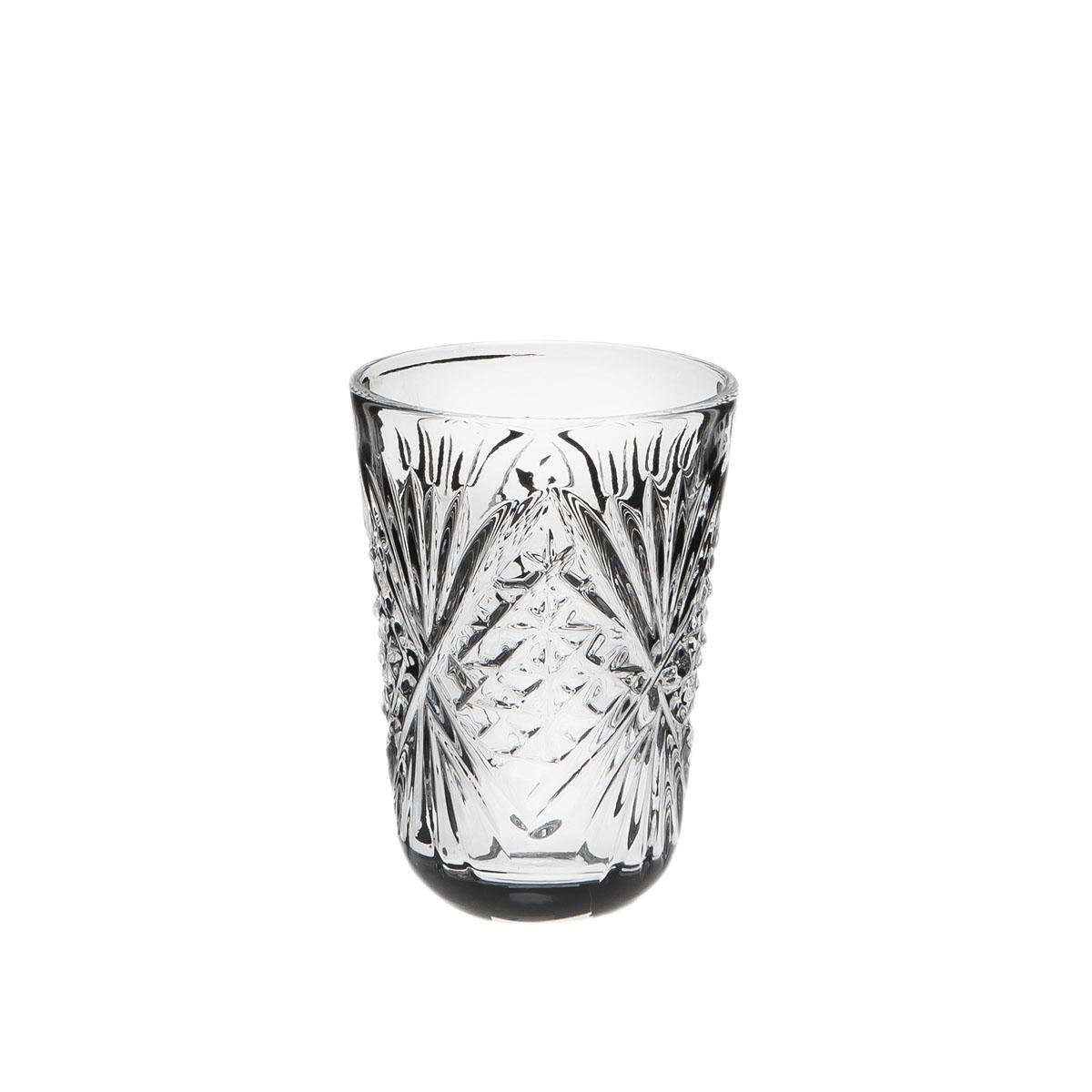Стакан к графину Дятьковский хрусталь, 50 мл. С332/2С332/2Хрустальные стаканы – красивое и простое решение для украшения праздничного стола. Стаканы из хрусталя универсальны, они подойдут и для алкогольных напитков – вина, шампанского, и для освежающих – минеральной воды, компота или сока. Если в вашей домашней коллекции еще нет предметов хрустальной посуды, купить хрустальные стаканы стоит обязательно.