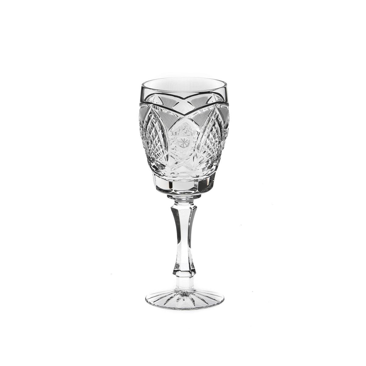 Бокал Дятьковский хрусталь Фирменный, 200 млС796Бокал Дятьковский Хрусталь Фирменный, изготовленный из высококачественного прочного хрусталя, отлично дополнит вашу коллекцию посуды. Изделие декорировано красивым рельефом, отличается изысканным дизайном и высоким качеством исполнения. Бокал предназначен для вина. Красота всегда современна. Поэтому хрустальные бокалы продолжают быть желанным подарком, украшением интерьера и праздничного стола даже в эпоху хай-тека. Хрусталь несет ощущение праздничности, подчеркивает комфорт и порой даже придает интерьеру некую аристократичность. Диаметр (по верхнему краю): 6,5 см. Высота: 17,5 см.