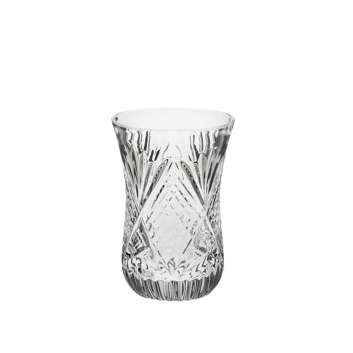 Стакан Дятьковский хрусталь Восточный, 125 мл. С998С998Хрустальные стаканы – красивое и простое решение для украшения праздничного стола. Стаканы из хрусталя универсальны, они подойдут и для алкогольных напитков – вина, шампанского, и для освежающих – минеральной воды, компота или сока. Если в вашей домашней коллекции еще нет предметов хрустальной посуды, купить хрустальные стаканы стоит обязательно.