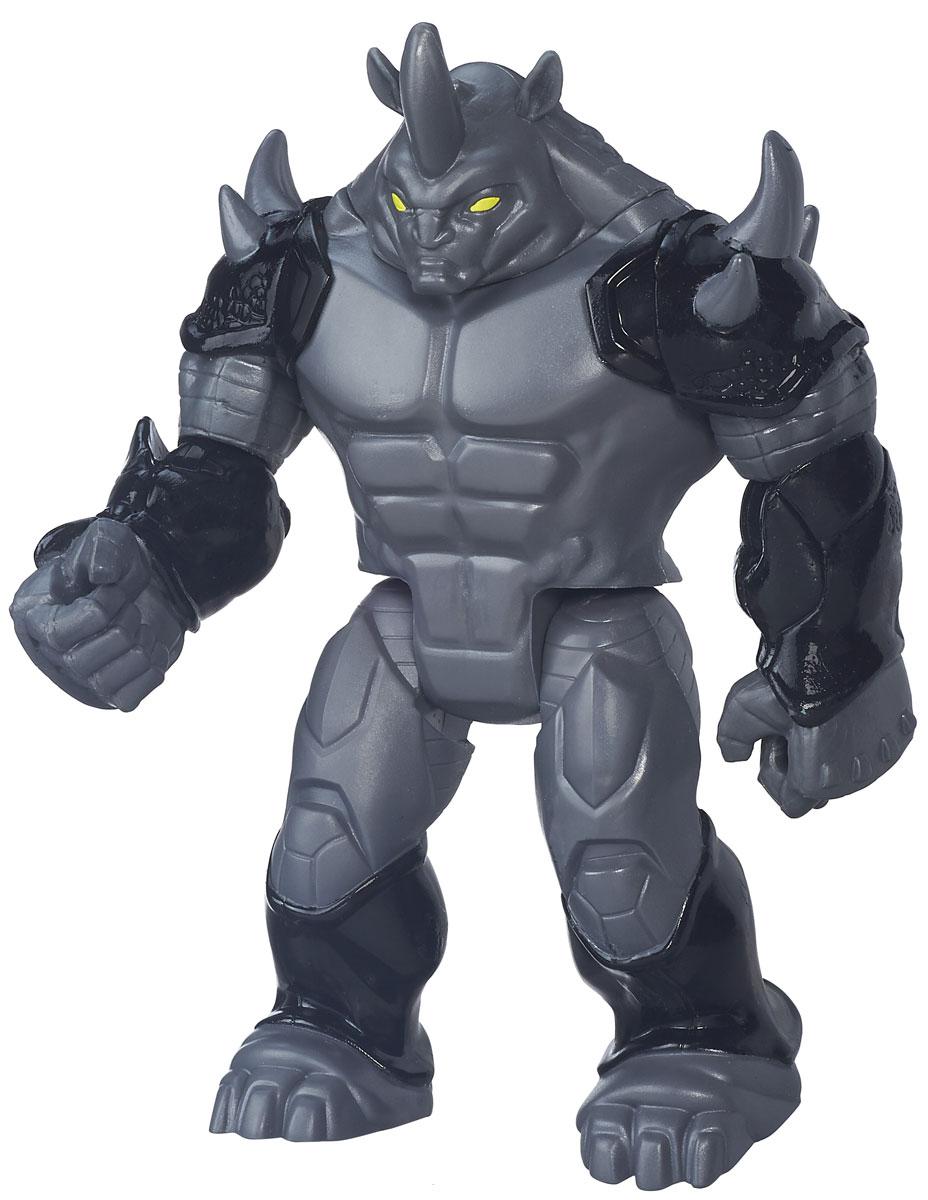 Spider-Man Фигурка Marvels RhinoB5758_B5877Фигурка Spider-Man Marvels Rhino порадует любого поклонника знаменитой вселенной Marvel. Фигурка изготовлена из высококачественного прочного пластика и выполнена в виде суперзлодея и врага Человека-паука. Персонаж носит костюм с толстым слоем полимеров, подобный носорогу, защищающий его, покрывая все его тело за исключением лица, который очень непроницаем. Фигурка имеет 5 точек артикуляции - голова, руки и ноги подвижны. Фигурка Spider-Man Marvels Rhino понравится как детям, так и взрослым коллекционерам, она станет отличным сувениром или займет достойное место в коллекции любого поклонника комиксов Marvel!