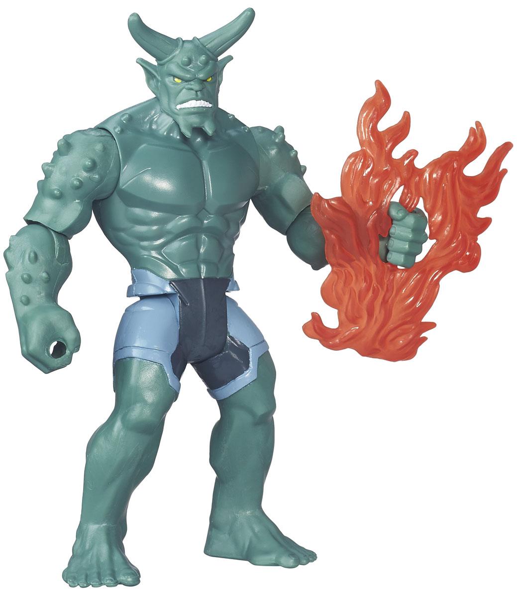 Spider-Man Фигурка Green Goblin B5875B5758_B5875Зеленый гоблин (Green Goblin) - псевдоним, который носили несколько вымышленных суперзлодеев комиксов издательства Marvel. Зеленый гоблин является злодеем хэллоуинского типа, чье оружие напоминает летучих мышей и тыквенные фонари. Наравне с Доктором Осьминогом, он заклятый враг супергероя Человека-паука. Фигурка Spider-Man Green Goblin станет прекрасным подарком для вашего ребенка. Она выполнена из прочного яркого пластика в виде Зеленого гоблина. Голова, руки и ноги фигурки подвижны, что позволит придавать ей различные позы. Также в наборе имеется оружие персонажа. Ваш ребенок будет часами играть с фигуркой, придумывая различные истории с участием этого героя.
