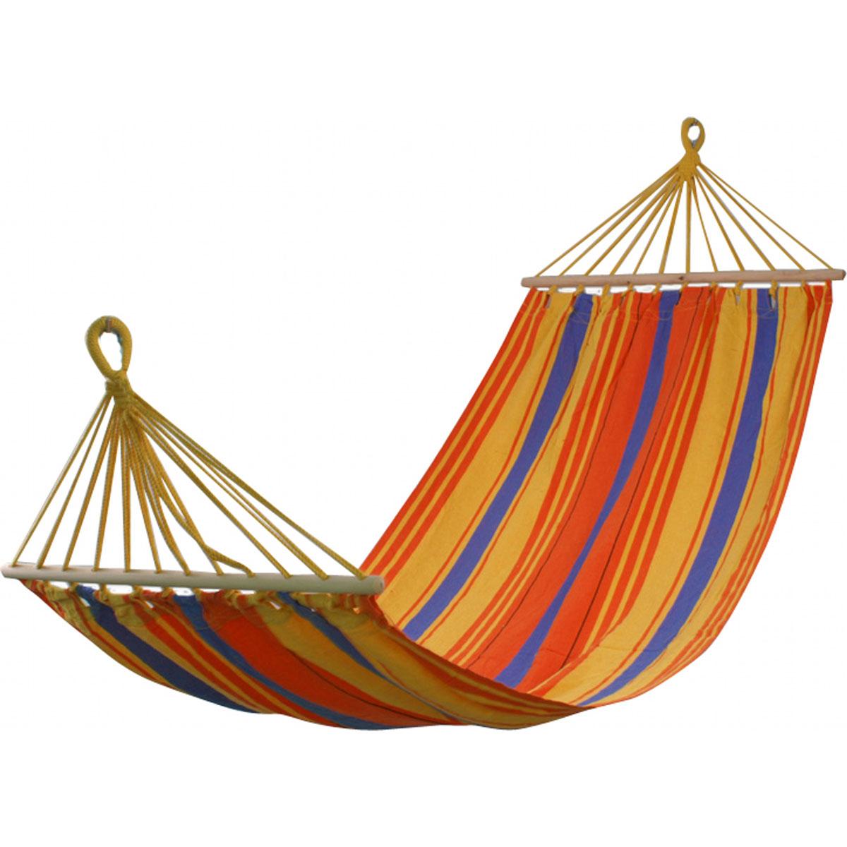 Гамак Бора-Бора, 100х200 см WILDMAN81-173Гамак – место для отдыха, кровать, парящая над землей, ему всегда будут рады и на приусадебном участке, и в доме, и в квартире. Гамаки способны сделать уютным и удобным любой летний отдых.Поход в лес – и качественный гамак-сетка станет местом для сна. Поездка за город – и он превратится в личный уголок, где можно полежать с книжкой, подремать, скрыться от суеты и солнца.