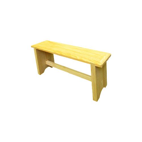 Скамейка малая 40х15х20 см, береза WILDMAN