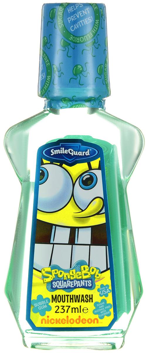 SpongeBob Ополаскиватель для полости рта 237 млSB-2Ополаскиватель для полости рта SpongeBob с 0,05% флюоридом предназначен для ежедневного использования. Ополаскиватель со вкусом Bubble Gum оказывает профилактическое противокариесное действие, замедляет образование зубного камня, предупреждает возникновение пародонтита и освежает дыхание. Не содержит спирт и сахар.