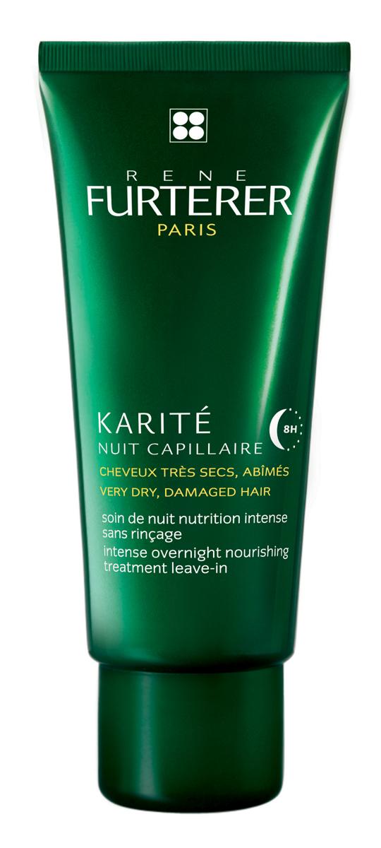 Rene Furterer Karite Питательная сыворотка для ночного ухода за волосами, для очень сухих волос, 100 мл517564Сыворотка питает и восстанавливает сухие, очень поврежденные волосы в течение ночного сна. Утром волосы восстановлены, они обретают легкость в укладке, мягкость и несравненный блеск.