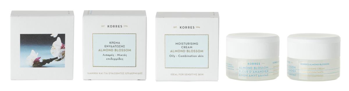 Korres Увлажняющий крем для лица с соцветиями миндаля, для жирной и комбинированной кожи, 40 мл5203069056192Крем с легкой невесомой текстурой интенсивно увлажняет и мгновенно матирует кожу. Идеально подходит для чувствительной кожи.