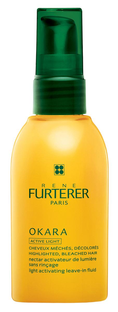 Rene Furterer Okara Блеск-молочко сияющий для мелированных волос без смывания, 100 мл3282779342971