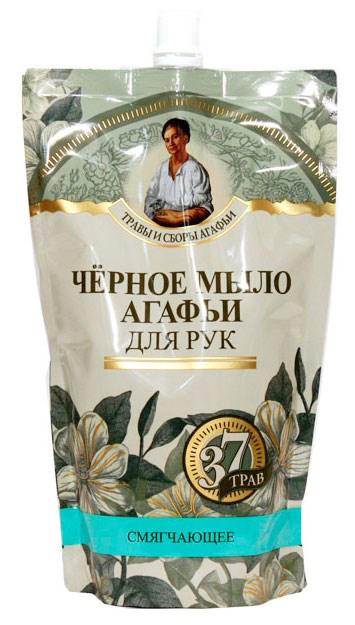 Черное мыло Агафьи мыло черное для рук 500 мл. (дойпак) (Травы и сборы на черном мыле Агафьи)