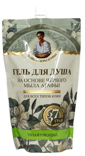 Черное мыло Агафьи гель для душа на основе черного мыла Агафьи 500 мл. (дойпак) (Травы и сборы на черном мыле Агафьи)