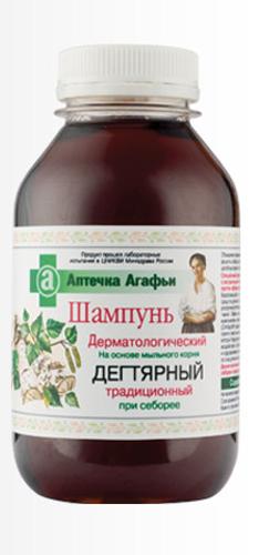 Аптечка Агафьи шампунь Дегтярный традиционный 300 мл