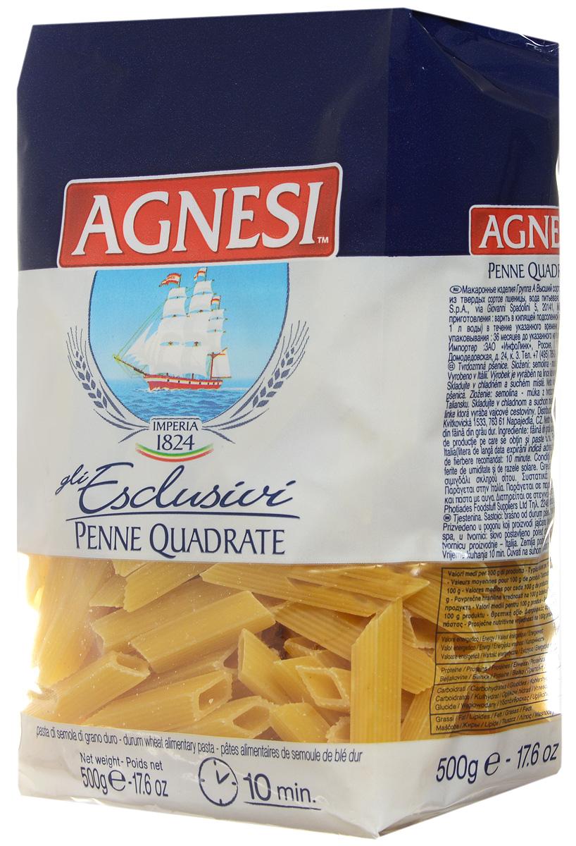 Agnesi Перо квадратное макароны, 500 г