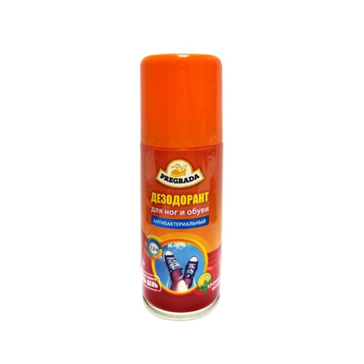 Аэрозоль дезодорант для ног и обуви Pregrada