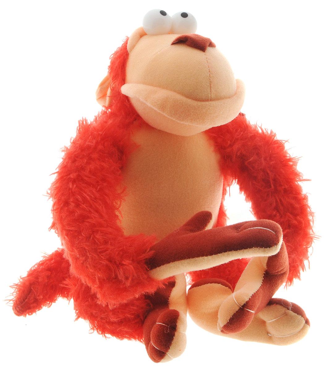 Fancy Мягкая игрушка Обезьянка Питто цвет красный 20 смOPP0_красныйОчаровательная мягкая игрушка Fancy Обезьянка Питто, выполненная в виде забавной обезьянки красного цвета, вызовет умиление и улыбку у каждого, кто ее увидит. Удивительно мягкая игрушка принесет радость и подарит своему обладателю мгновения нежных объятий и приятных воспоминаний. Питто - веселая обезьянка на металлическом каркасе, у нее цепкий длинный хвост, а на передних лапах она может повиснуть и раскачиваться. Великолепное качество исполнения делают эту игрушку чудесным подарком к любому празднику.