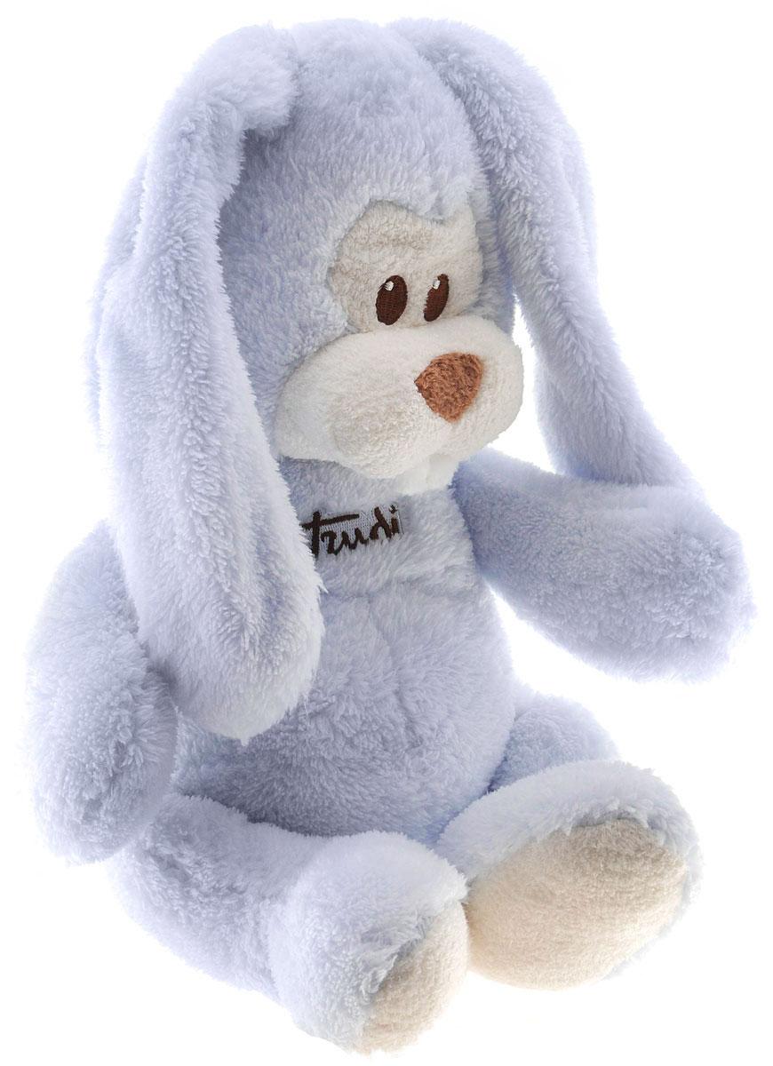 Trudi Мягкая игрушка Заяц Вирджилио 36 см18132Симпатичный мягкий зайчик Trudi Вирджилио, выполненный из текстиля, не оставит равнодушным ни ребенка, ни взрослого и вызовет улыбку у каждого, кто его увидит. Необычайно мягкий, он принесет радость и подарит своему обладателю мгновения нежных объятий и приятных воспоминаний. Европейский стиль и великолепное качество исполнения делают эту игрушку чудесным подарком к любому празднику, а оригинальный жизнерадостный образ представит такой подарок в самом лучшем свете.